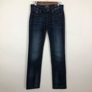 Cult of individuality karma straight leg jeans 26